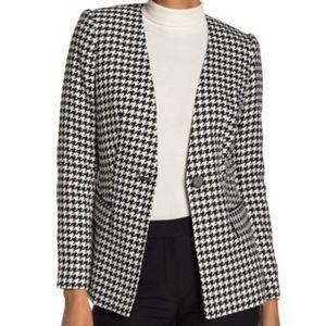 NWOT Calvin Klein Houndstooth Jacket